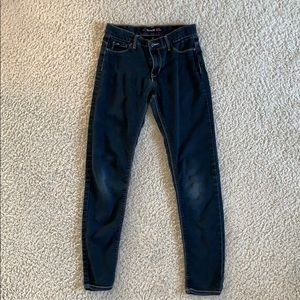 2 pair. kids 14 Black & Blue Skinny Jeans.